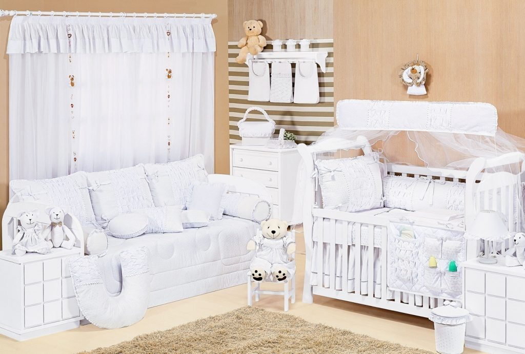 quarto de bebê em tons neutros Grão de Gente