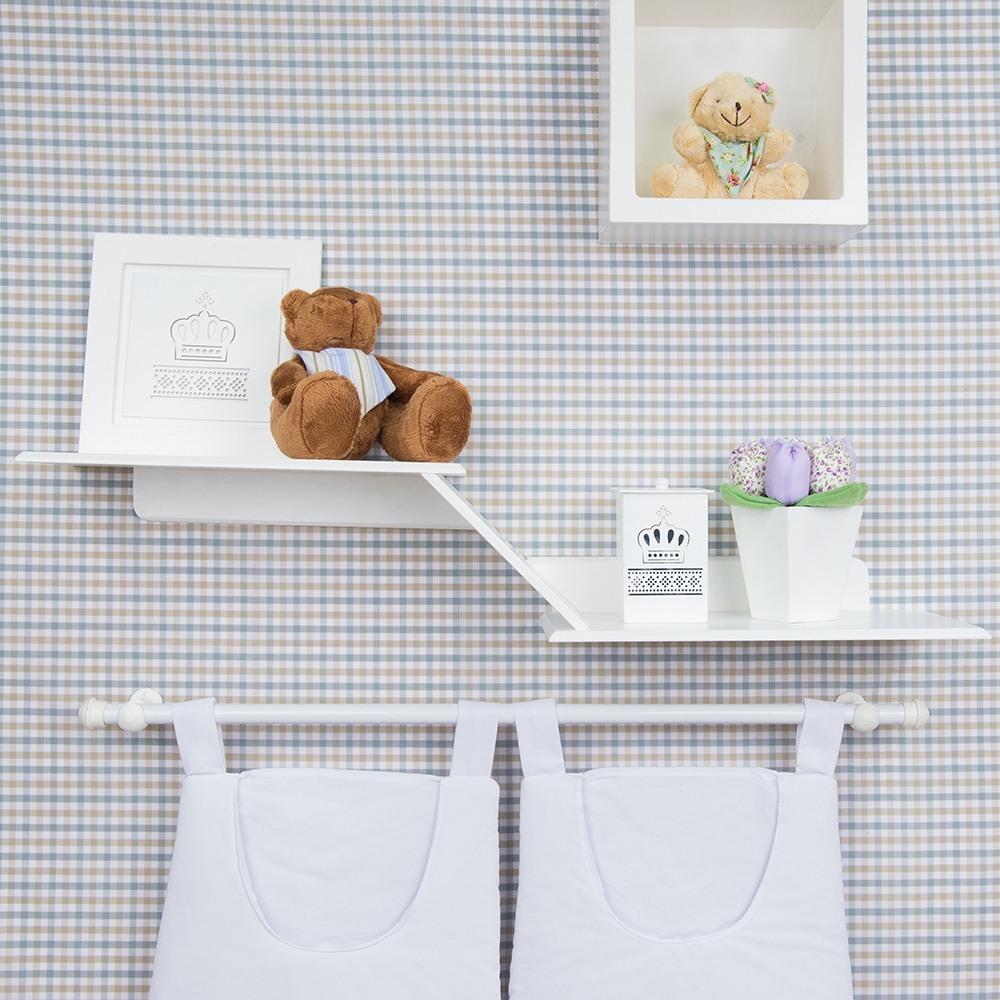 Os Nicho De Bebe ~ Nichos e prateleiras otimizam espaço no quarto do beb u00ea