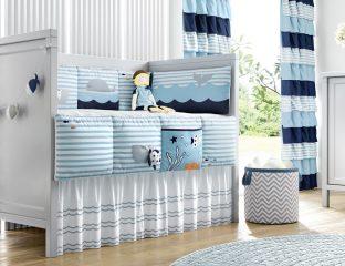 quarto de bebê marítimo