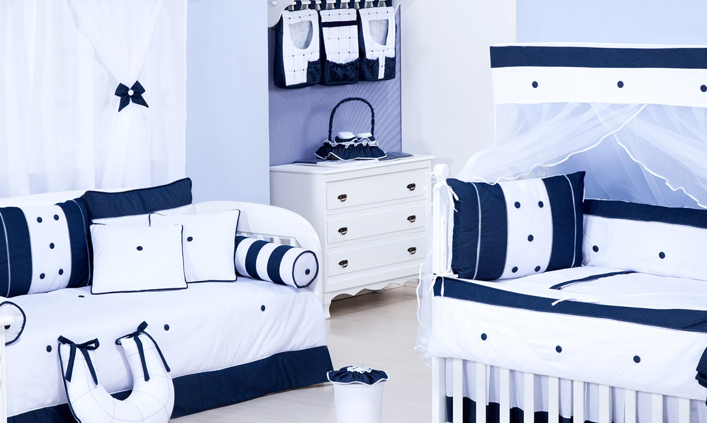 Kit Quarto Masculino Redival Com ~ Quarto Azul Marinho E Branco E Montar O Quarto Do Bebe