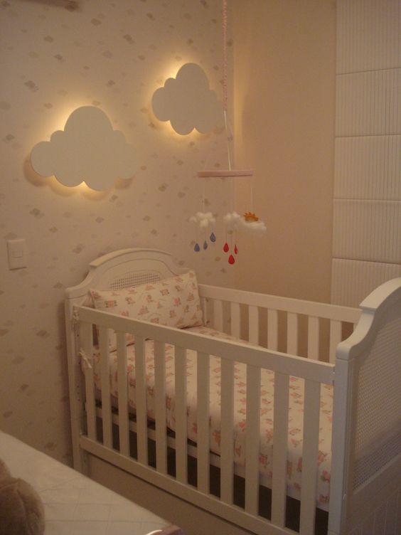 A iluminação ideal para o quarto do bebê  Mais de 900 Quartos de Bebê  【Qua
