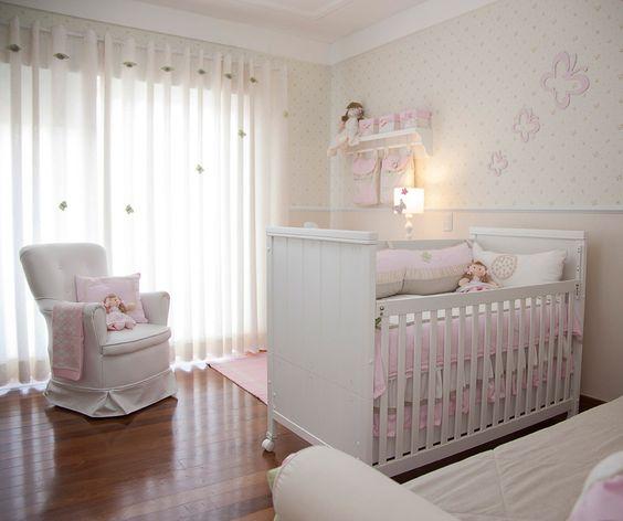 Quarto de bebê rosa Quarto para bebê ~ Quarto Rosa De Bb