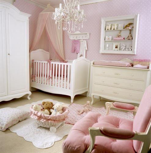 Quarto de bebê rosa Quarto para bebê ~ Um Quarto Rosa