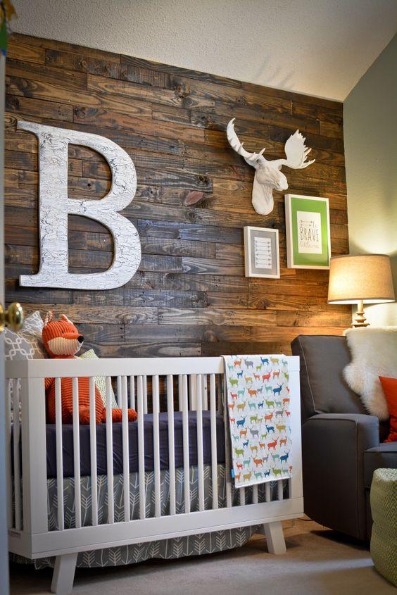 Decora o r stica para quarto de beb - Cunas rusticas para bebes ...