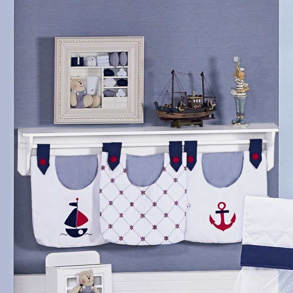 Quarto De Beb Marinheiro ~ Quarto Azul Marinho E Branco E Montar O Quarto Do Bebe