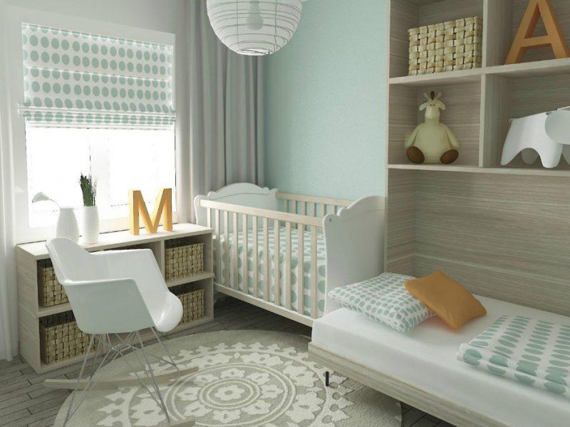 quarto de bebe com decoração feng shui
