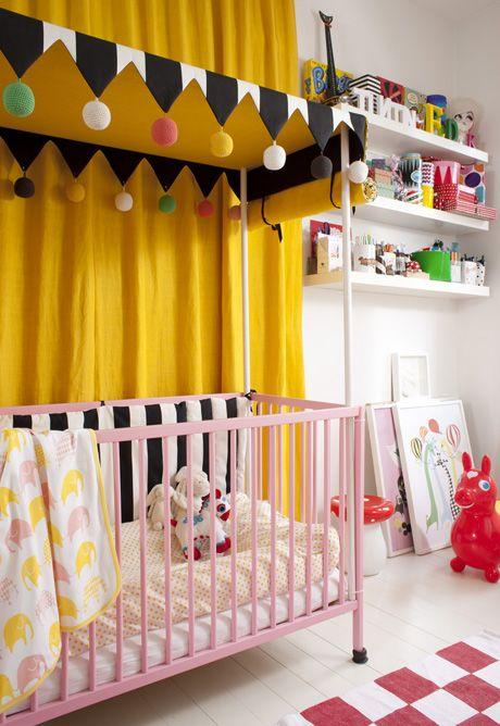 quarto de bebe circense.10