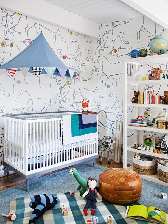 quarto de bebe circense.11