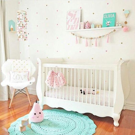 Como escolher o tapete do quarto de bebê ~ Tapetes Quarto Bebe Feminino