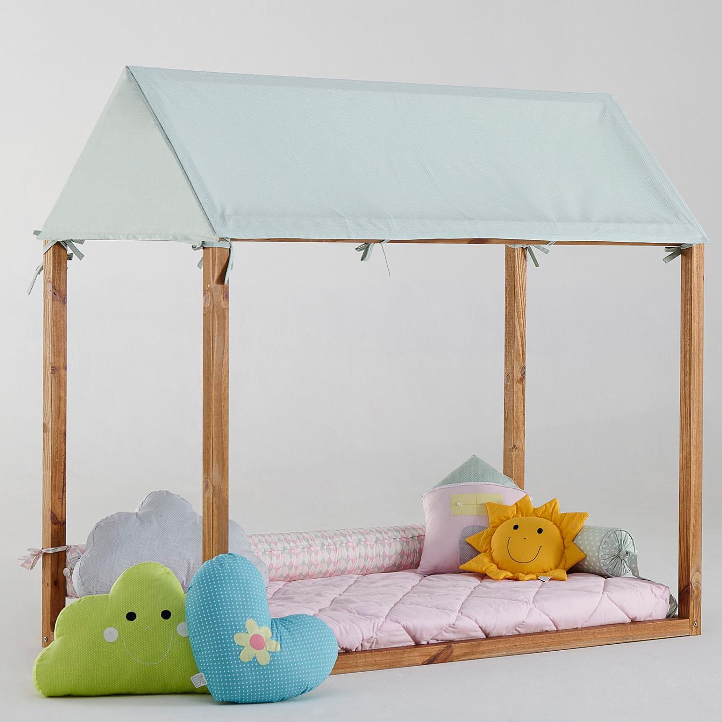 Veja como fazer uma cama em forma de casinha mais de 900 for Camas en forma de casa