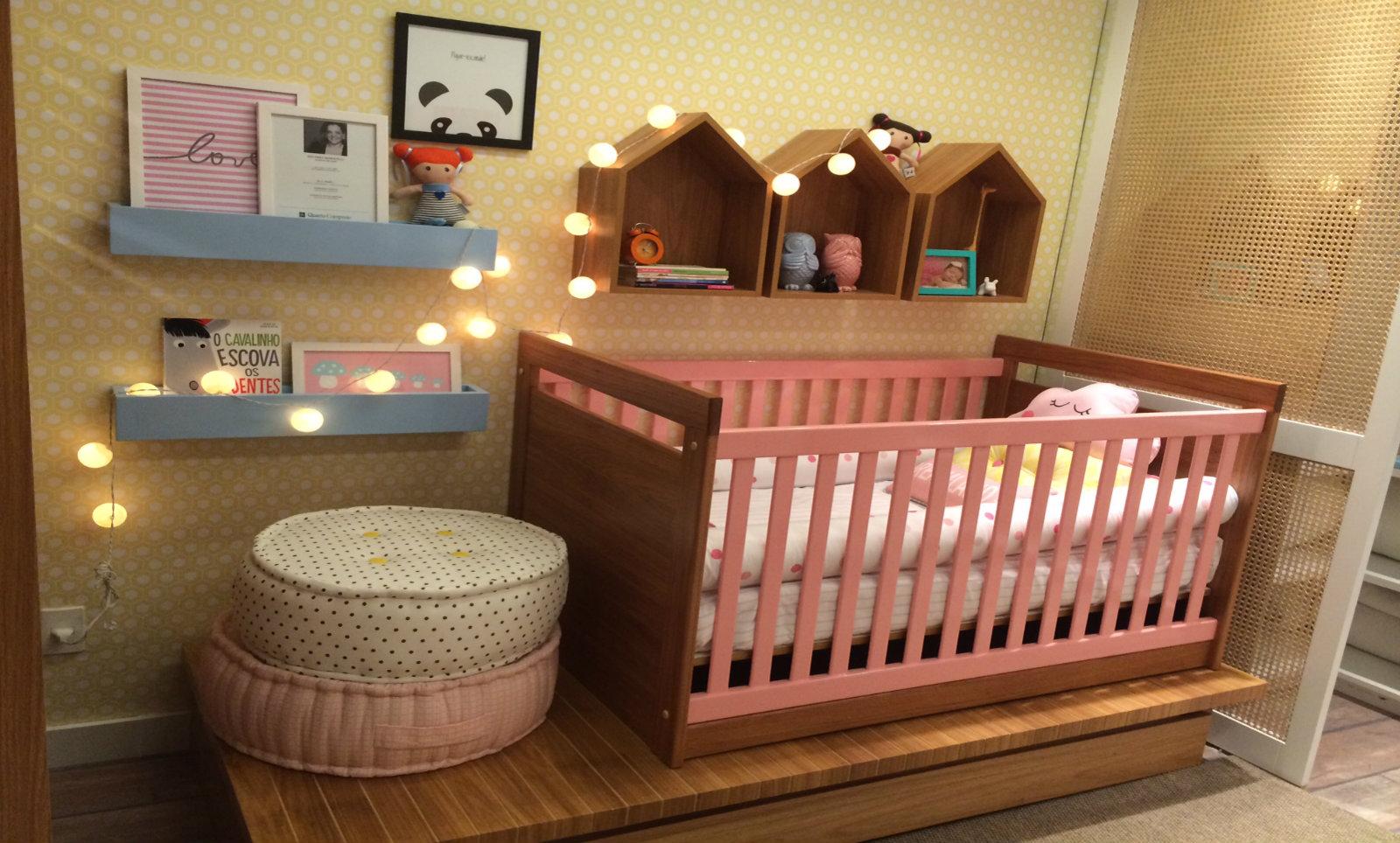 Fio De Luz Para Decorar O Quarto Do Beb Mais De 900 Quartos De  ~ Decoração De Quarto Com Luzes E Quarto Simples Para Bebe