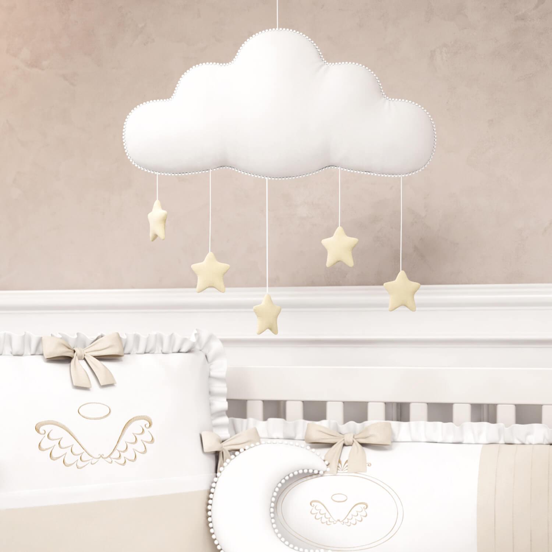 nuvens na decoração