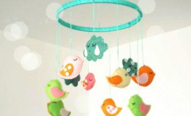 mobiles para quarto de bebe