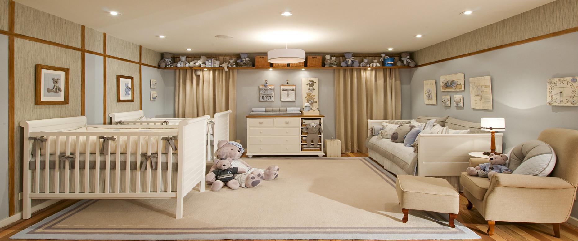 Ursinhos na decora o do quarto do beb mais de 900 - Euromobilia quarto na ...
