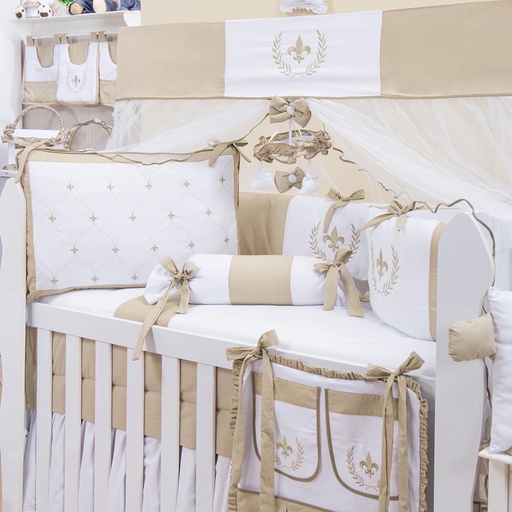 Quarto de bebê com decoração provençal  Quarto para bebê