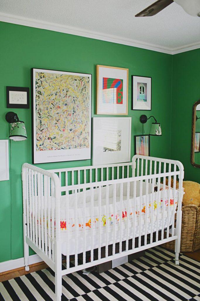 Quarto De Bebê Verde Mais De 900 Quartos De Bebê Quarto Para