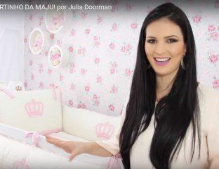 Julia Doorman apresenta o quarto da Maju