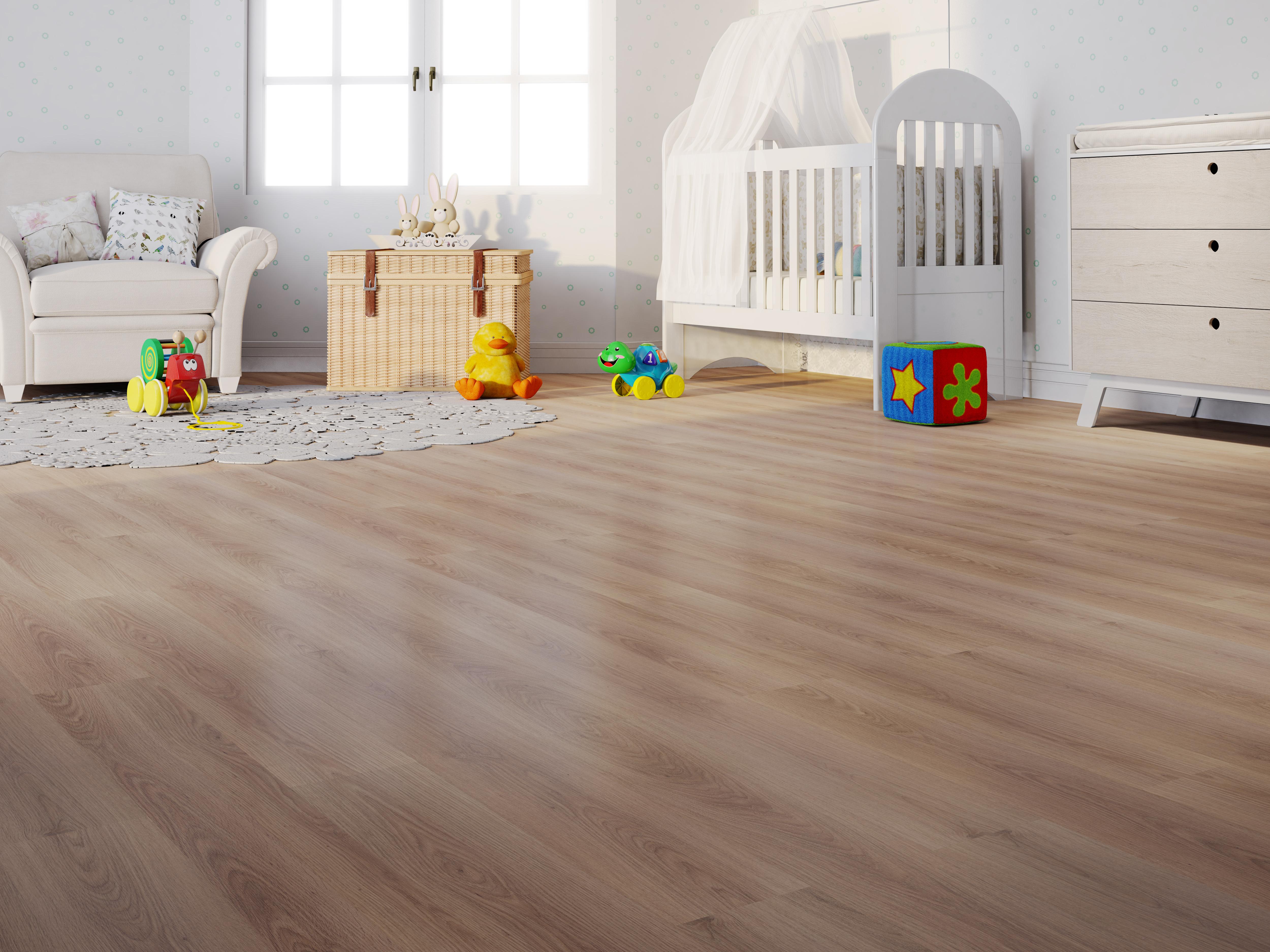 como escolher o piso ideal para quarto de bebê