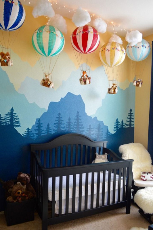 o c 233 u 233 o limite fa 231 a um quarto de beb 234 tem 225 tico de c 233 u nursery mural archives hand painted murals for children