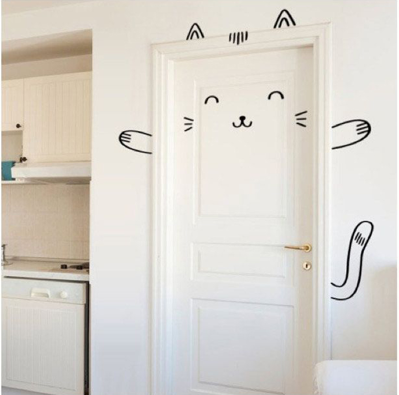 Door Decorating Ideas Home Decor And Design Image Of: Quarto De Bebê Com Portas Decoradas é Tendência