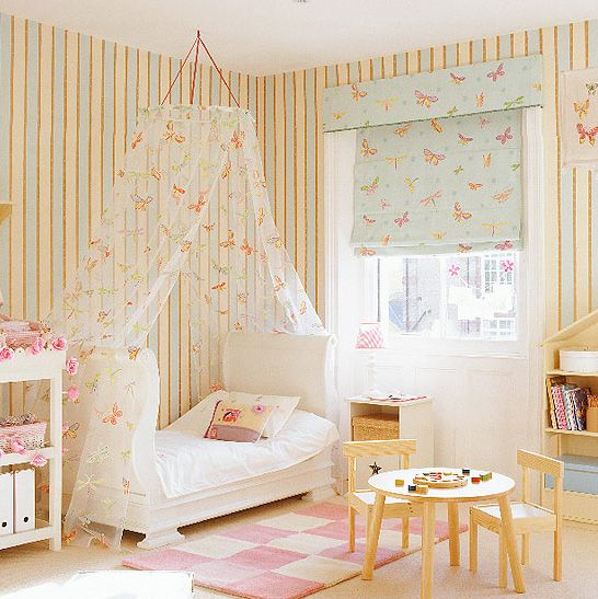 cortina para quarto de bebê