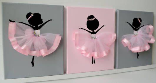 decoração de bailarina