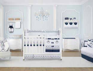 quarto de bebê real