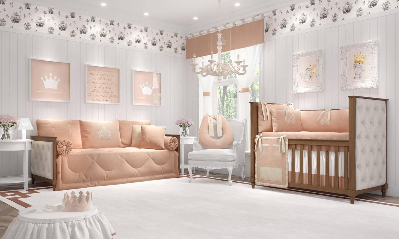 quarto para bebê coroa