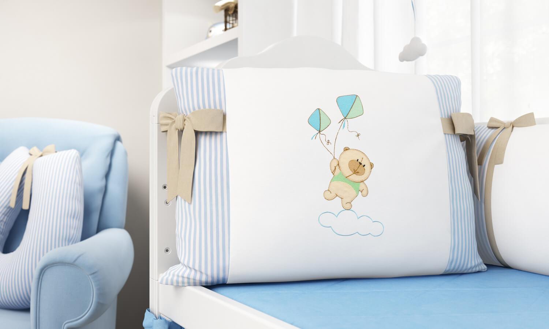 quarto de bebê lúdico
