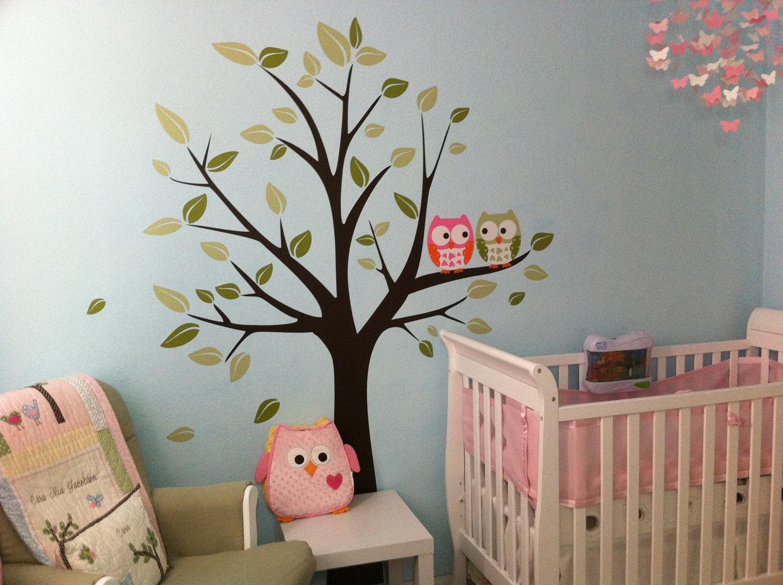 Quarto De Beb Com Corujinhas Mais De 900 Quartos De Beb  ~ Decoração Coruja Quarto Bebe E Pinturas Quarto De Bebe