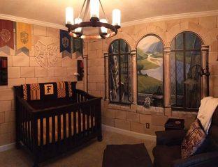 quarto de bebê harry potter