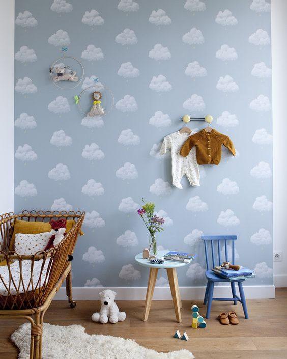 quarto de bebê com mini berço decor diferenciada