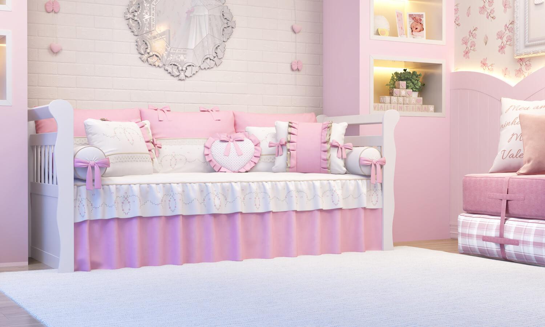quarto alice rosa