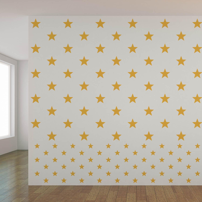 Quarto da Mulher-Maravilha: adesivos de estrelas da Grão de Gente