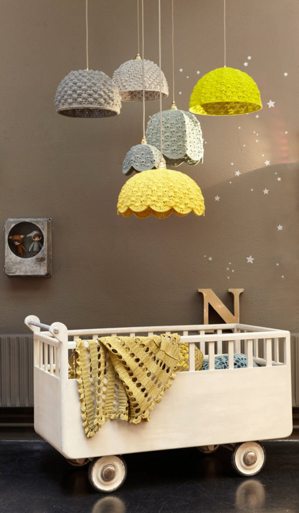 Tricô e Crochê: luminárias