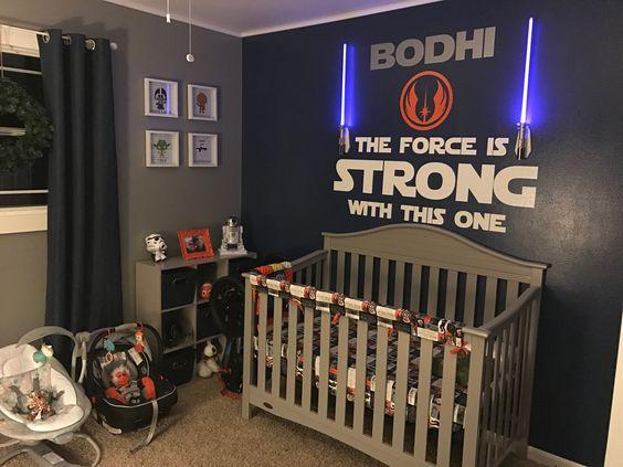 10 ideias para montar um quarto de bebê do Star Wars  Quarto para bebê