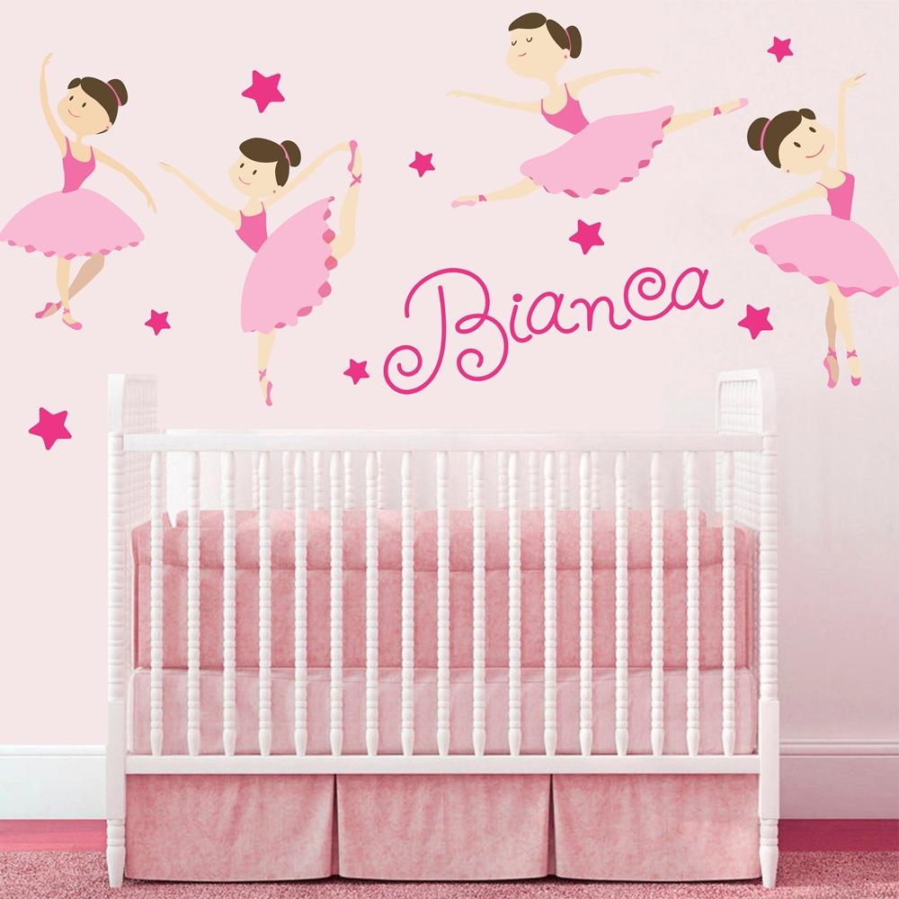 quarto de bebê bailarina