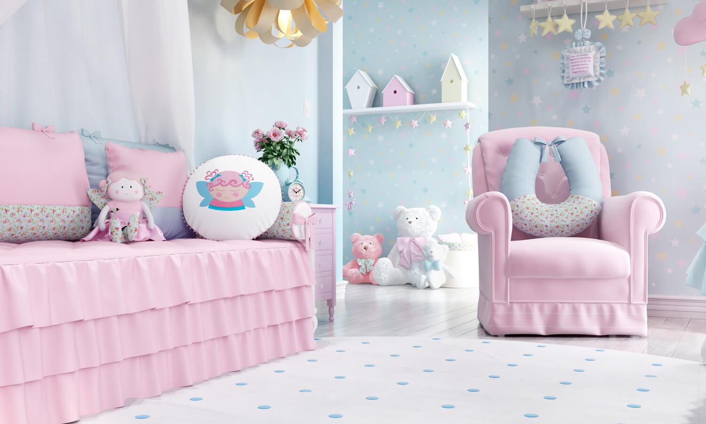 quarto de bebê fada