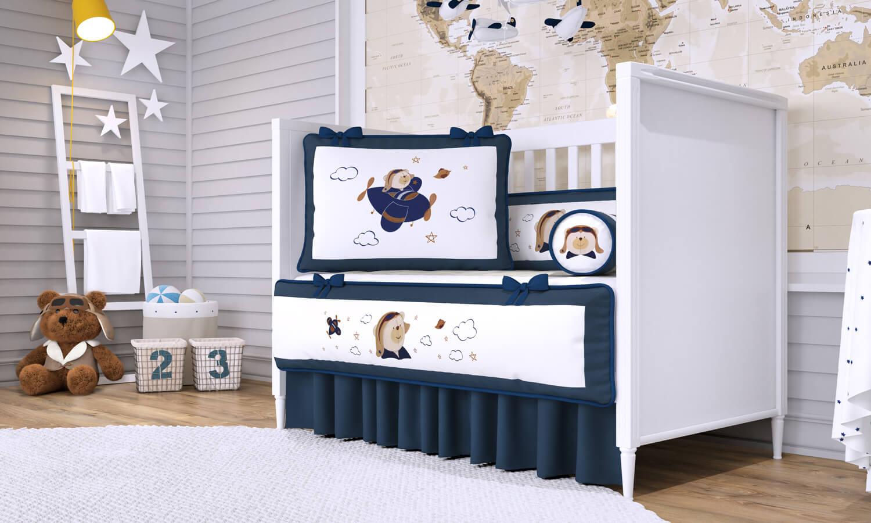 Quarto De Beb Azul Marinho Cortina Para Quarto De Beb Azul  ~ Quarto Bebe Masculino Azul Marinho
