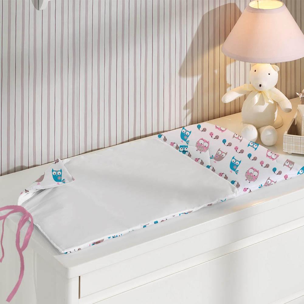 coruja na decoração do quarto do bebê