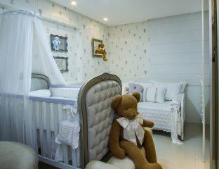 quarto de bebê clean