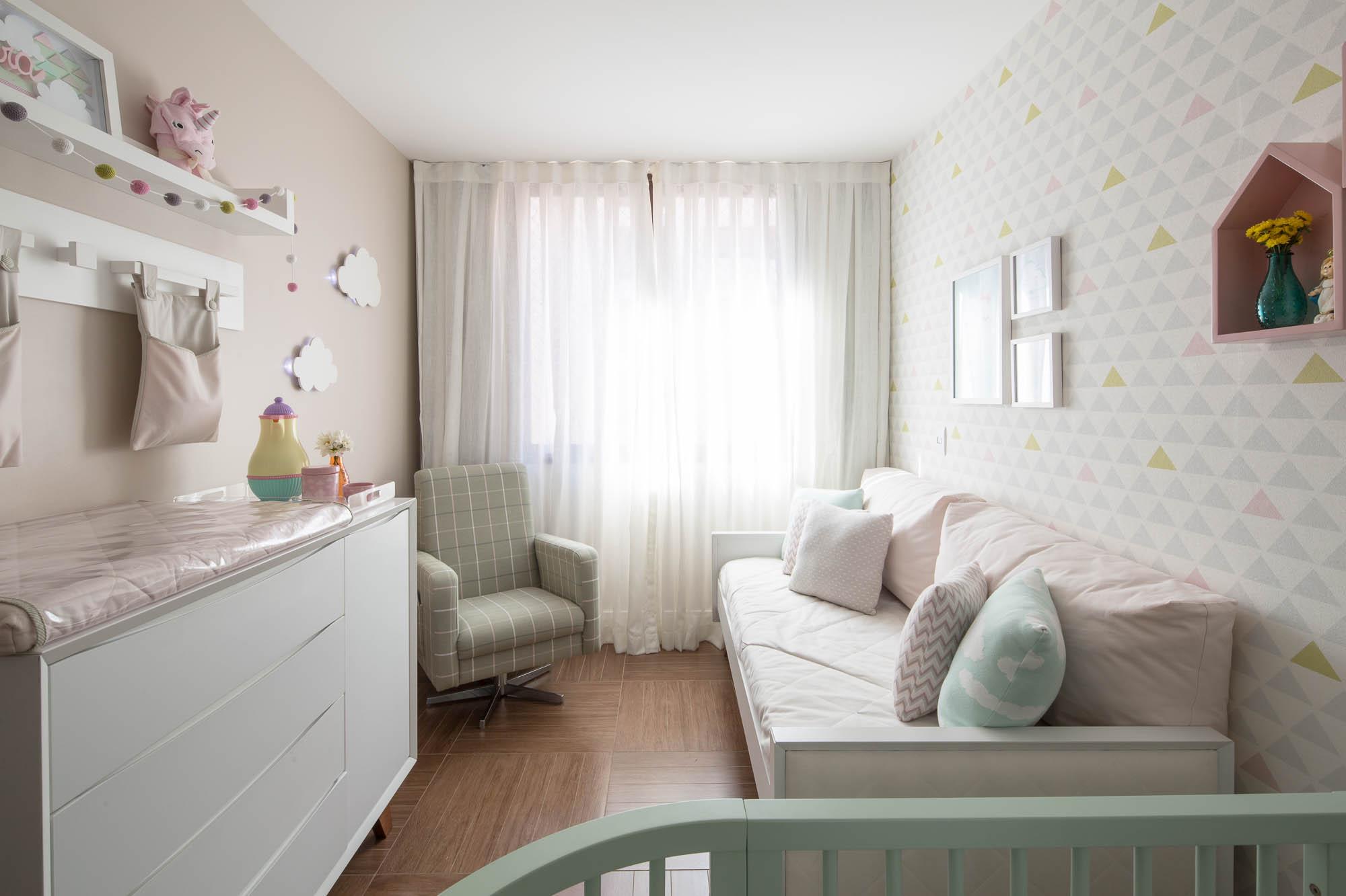 quarto de bebê moderno