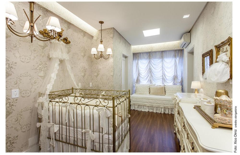 quarto de bebê clássico