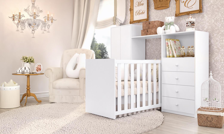 Quarto De Beb Pequeno Otimize Com Os M Veis Multifuncionais ~ Decoração De Quarto De Bebe Pequeno