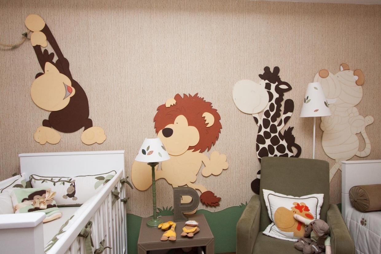 Quarto De Beb Com Girafas 10 Ideias Para A Decora O ~ Quarto Bebe Masculino Moderno E Quarto De Menina Desenho