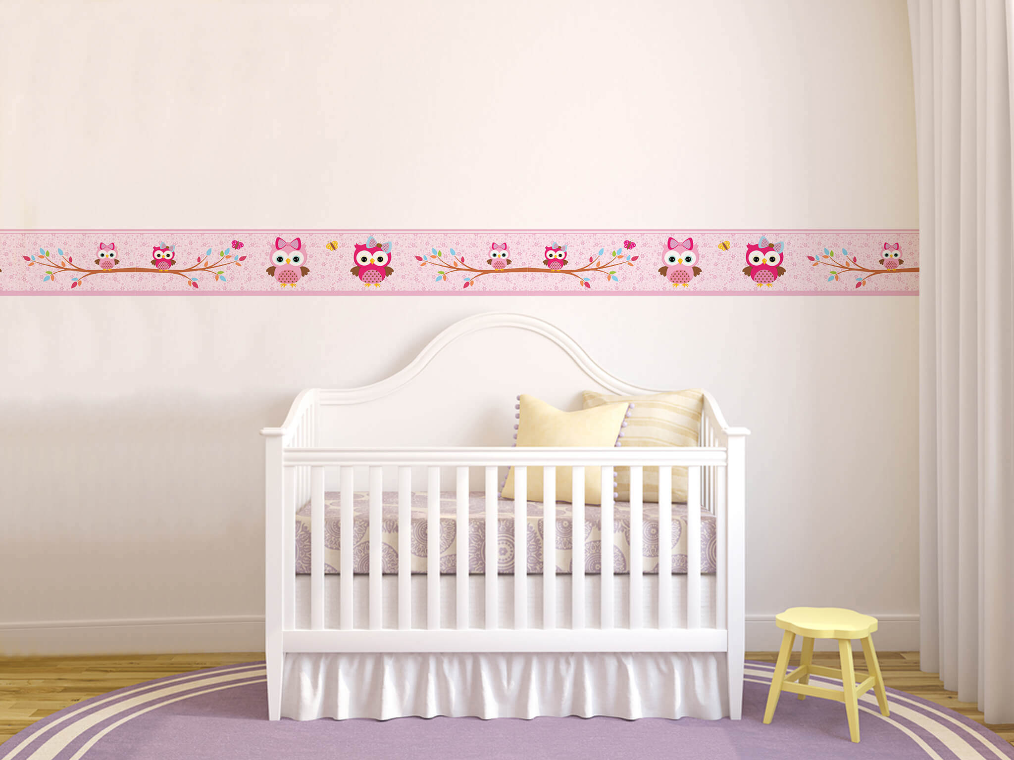 Adesivos no quarto do bebê: ideias originais para a decoração