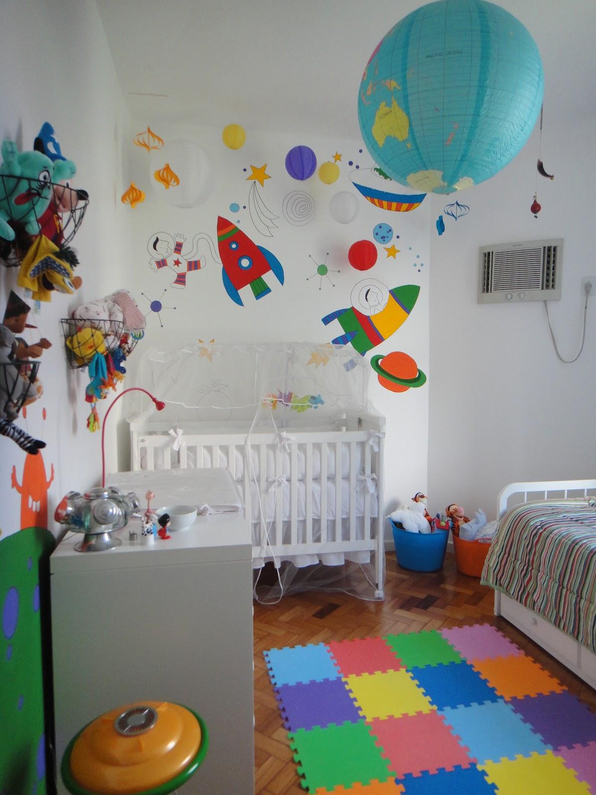Quarto De Beb Divertido 10 Ideias Para Animar A Decora O ~ Pintura Quarto Menino Com Quarto De Bebe Colorido