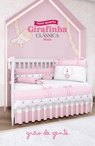 Lançamento: Girafinha Clássica Rosa
