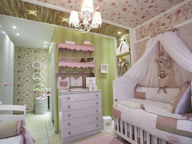 teto do quarto do bebê