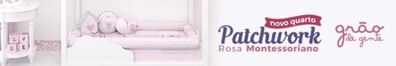 Coleção Patchwork Rosa